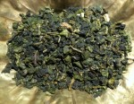 Loose leaf ginger oolong tea