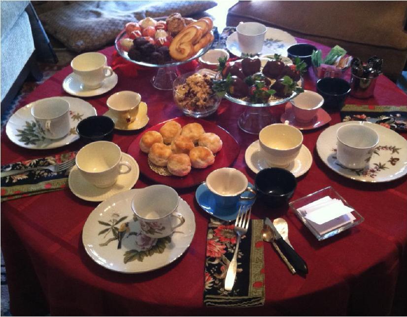 AR TeaTime Table