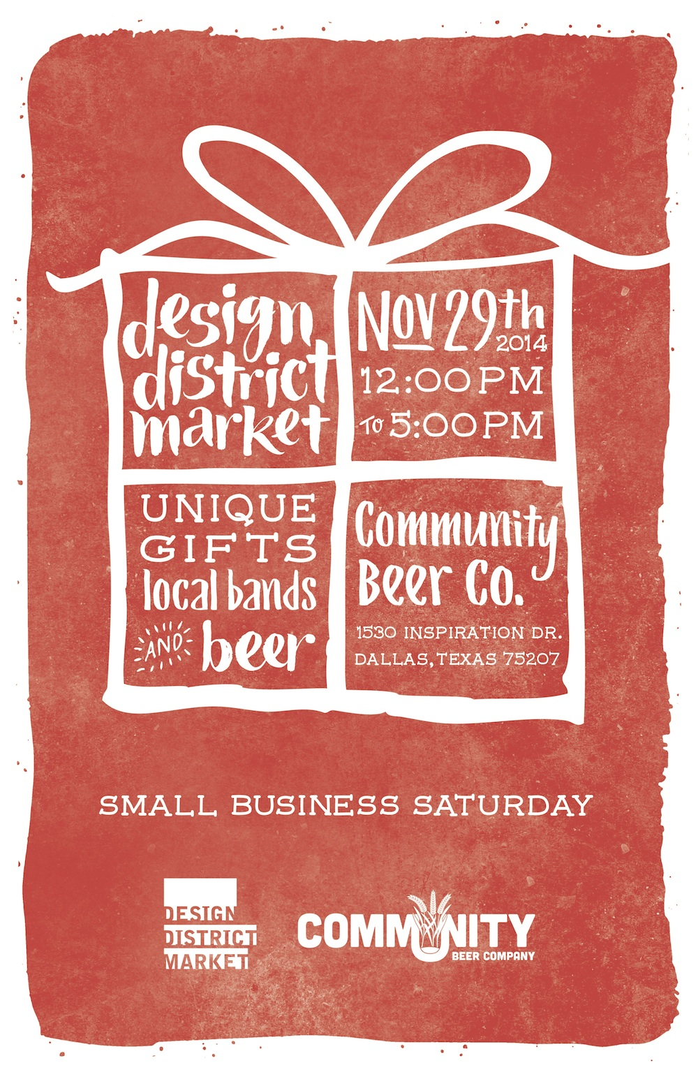 November 29: Small Business Saturday at Community Beer