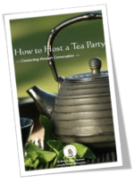 How to host a tea party book
