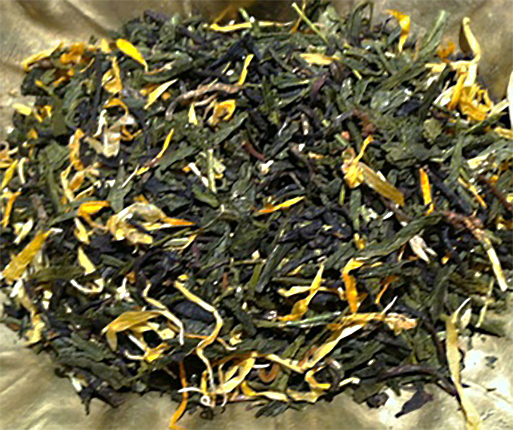 Generosi(ty) Loose Leaf Black Green Tea Blend